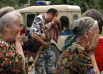 Hundreds of children were slaughtered by Islamic terrorists in Beslan